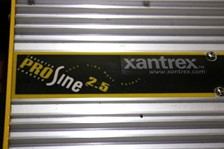 USED RV XANTREX PROSINE 2.5 INVERTER CHARGER FOR SALE