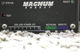 USED RV MAGNUM ENERGY AUTO GENERATOR START FOR SALE