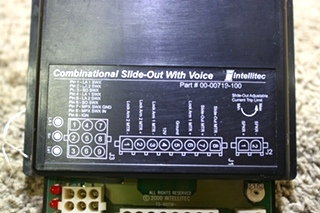 USED INTELLITEC COMBINATIONAL SLIDE OUT WITH VOICE 00-00719-100 MOTORHOME PARTS FOR SALE