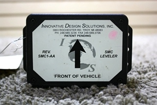 USED INNOVATIVE DESIGN SOLUTIONS SMC LEVELER SMC1-AA RV PARTS FOR SALE