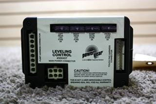 USED RV POWER GEAR LEVELING CONTROL 500457 FOR SALE