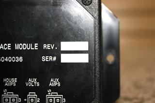 USED MOTORHOME ALADDIN DC INTERFACE MODULE 38040036 FOR SALE
