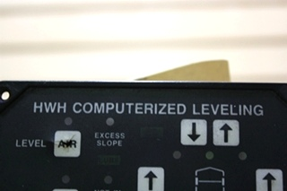 USED MOTORHOME HWH COMPUTERIZED LEVELING TOUCH PAD AP6975 FOR SALE