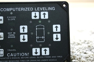 USED HWH COMPUTERIZED LEVELING CONTROL AP8444 RV PARTS FOR SALE