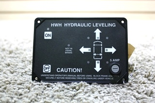 USED RV PARTS HWH HYDRAULIC LEVELING CONTROL AP9755 TOUCH PAD FOR SALE