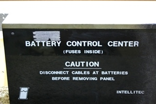 USED RV INTELLITEC 73-00500 BATTERY CONTROL CENTER FOR SALE