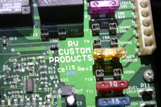 USED RV CUSTOM PRODUCTS BATTERY CONTROL CENTER RV PARTS FOR SALE