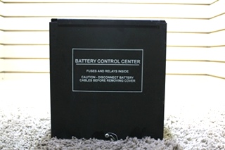 USED MOTORHOME BATTERY CONTROL CENTER RV PARTS FOR SALE