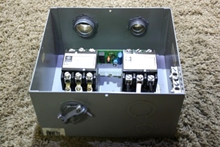 USED RV AUTOMATIC GENERATOR - SHORELINE TRANSFER SWITCH ES50M-65N FOR SALE