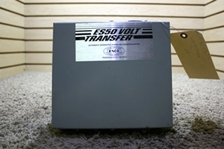 USED ES50-65N ES 50 VOLT TRANSFER AUTOMATIC GENERATOR - SHORELINE TRANSFER SWITCH RV PARTS FOR SALE