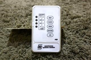 USED RV KIB SMARTSENSE SYSTEMS MONITOR PANEL FOR SALE
