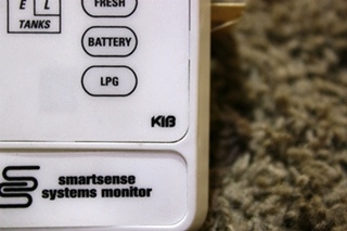 USED RV KIB SMARTSENSE SYSTEMS MONITOR PANEL FOR SALE