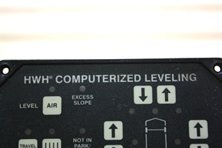 USED MOTORHOME HWH COMPUTERIZED LEVELING TOUCH PAD AP23304R4 FOR SALE