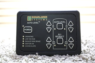 USED RV EQUALIZER SYSTEM AUTO-LEVEL KEYPAD MODEL: 2318 FOR SALE