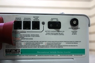 USED MOTORHOME TRACE ENGINEERING RV3012 INVERTER CHARGER FOR SALE