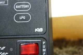 USED MOTORHOME KIB MICRO MONITOR TANK LEVEL MONITOR PANEL FOR SALE