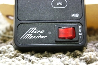 USED MOTORHOME KIB MICRO MONITOR TANK LEVEL MONITOR PANEL FOR SALE