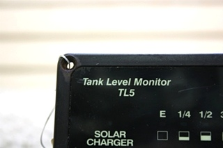 USED MOTORHOME HEART INTERFACE TANK LEVEL MONITOR TL5 84-2025-02 FOR SALE