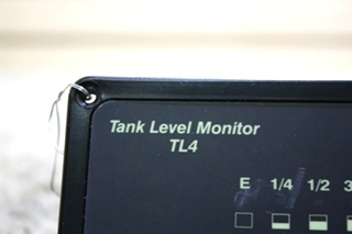 USED RV HEART INTERFACE TANK LEVEL MONITOR TL4 84-2025-01 FOR SALE