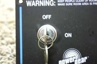 USED RV POWER GEAR SLIDE OUT CONTROL PANEL FOR SALE