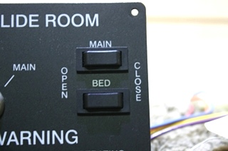 USED JRV SLIDE ROOM CONTROL PANEL MOTORHOME PARTS FOR SALE