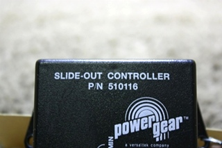 USED POWER GEAR SLIDE OUT CONTROLLER 510116 RV PARTS FOR SALE