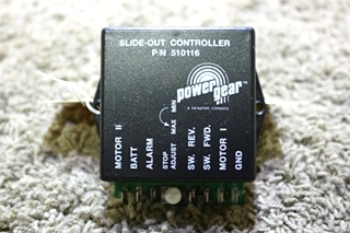 USED 510116 POWER GEAR SLIDE OUT CONTROLLER MOTORHOME PARTS FOR SALE