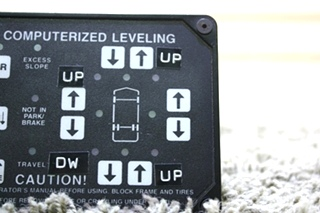 USED HWH COMPUTERIZED LEVELING TOUCH PAD RV PARTS FOR SALE