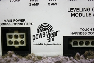 USED MOTORHOME POWER GEAR LEVELING CONTROL MODULE 500536 FOR SALE