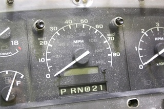 USED RV FORD DASH CLUSTER FOR SALE