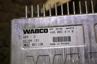 USED RV WABCO ABS CONTROL BOARD 4460034140 FOR SALE