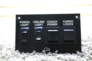 USED RV BEAVER SWITCH PANEL FOR SALE