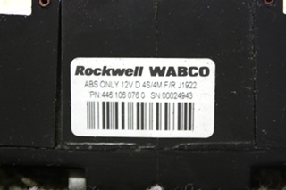 USED MOTORHOME 4461060760 ROCKWELL WABCO ABS CONTROL BOARD FOR SALE