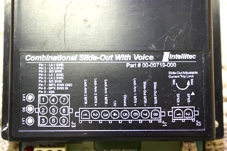 USED RV INTELLITEC COMBINATIONAL SLIDE-OUT WITH VOICE 00-00719-000 FOR SALE