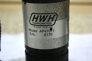 USED RV HWH AP47071 CYLINDER LEVELING JACK FOR SALE