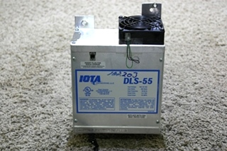 USED RV IOTA ENGINEERING POWER CONVERTER DLS-55 FOR SALE