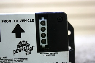 USED 140-1227 POWER GEAR RV LEVELING CONTROL BOARD FOR SALE