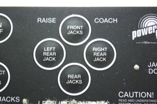 USED MOTORHOME POWER GEAR 500456 LEVELING CONTROL TOUCH PAD FOR SALE