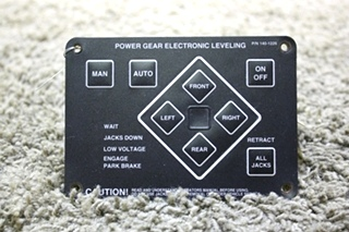 USED RV POWER GEAR ELECTRONIC LEVELING TOUCH PAD 140-1226 FOR SALE