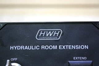 USED RV HWH HYDRAULIC ROOM EXTENSION PANEL AP11418 FOR SALE