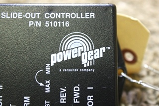 USED RV POWER GEAR 510116 SLIDE-OUT CONTROLLER FOR SALE