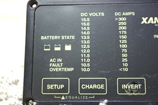 USED MOTORHOME XANTREX 84-2056-03 REMOTE FOR SALE