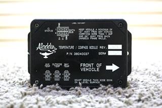 USED MOTORHOME ALADDIN TEMPERATURE / COMPASS MODULE 38040037 FOR SALE