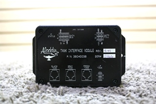USED 38040038 ALADDIN TANK INTERFACE MODULE RV PARTS FOR SALE