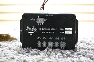 USED RV ALADDIN AC INTERFACE MODULE 38040035 FOR SALE