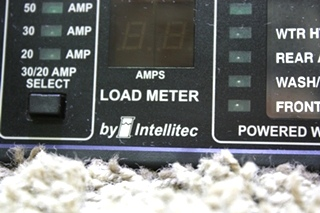 USED 50 AMP SMART EMS BY INTELLITEC DISPLAY PANEL 00-00684-100 RV PARTS FOR SALE