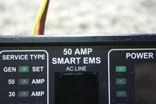 USED MOTORHOME 50 AMP SMART EMS DISPLAY PANEL 00-00903-150 FOR SALE