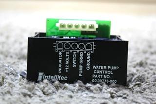 USED MOTORHOME INTELLITEC WATER PUMP CONTROL 00-00776-000 FOR SALE