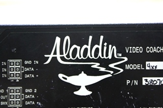 USED MOTORHOME ALADDIN VIDEO COACH SYSTEM MONITOR 38070302 FOR SALE