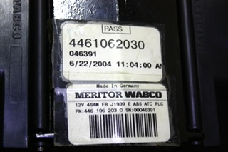 USED MOTORHOME MERITOR WABCO ABS CONTROL BOARD 4461062030 FOR SALE